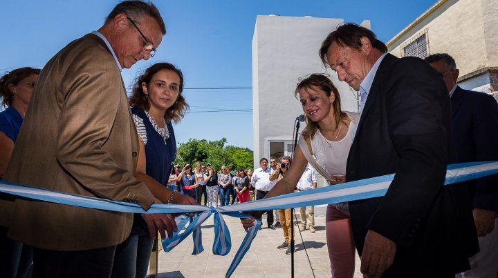 Varisco inauguró el jardín maternal Puentes de Colores