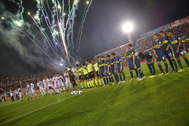 Boca visitó a Patronato en octubre de 2017. Fue 2 a 0 para el xeneize