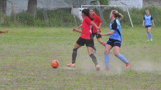 Encuentro de fútbol femenino Vivas Nos Queremos
