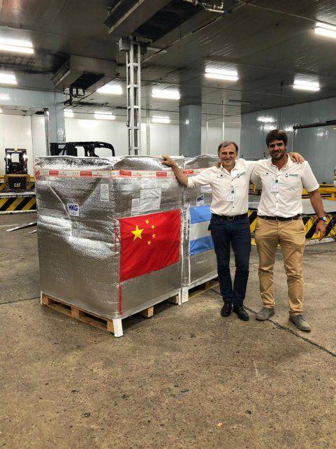 Se realizó la primer exportación de arándanos al mercado chino