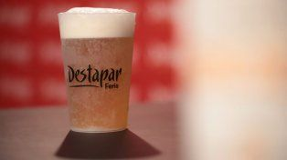 La cerveza artesanal tirada es una de las banderas del festival gastronómico.