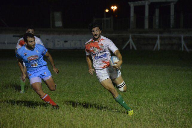 Clásico. El partido que abrió el triangular en La Tortuguita fue Entre Ríos-Santa Fe.