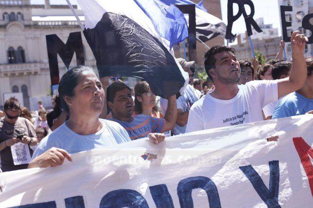 El reclamo de justicia por Maka Taborda se hizo sentir frente a Tribunales