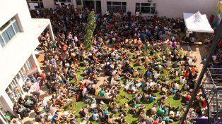 La organización calculó que unos 2.000 varones participaron del ELVA.