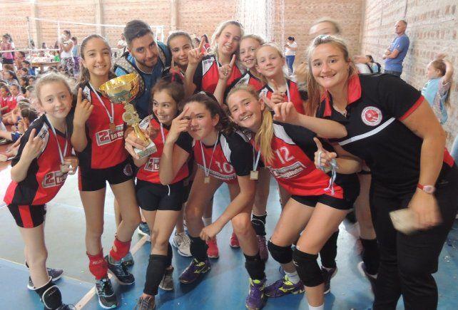 En Sub 12. El equipo de la Aldea se quedó con el primer puesto en esta división tras ganar en Hernández.