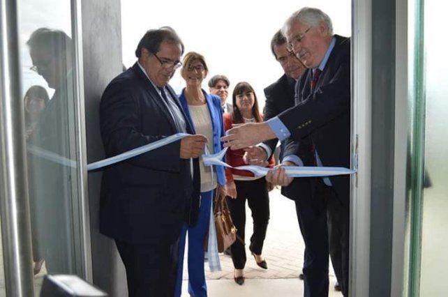 El primer paso. El nuevo edificio del Juzgado de Paz se inauguró el 5 de noviembre.