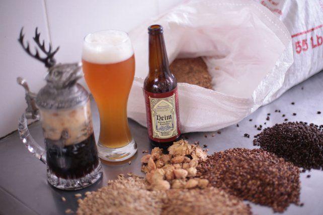 La cerveza que se produce en Aldea Brasilera.
