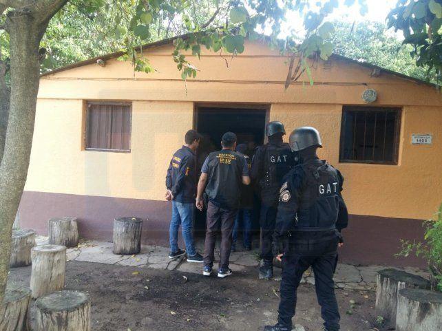 Búsqueda y detención. El acusado será trasladado en las próximas horas a Paraná.