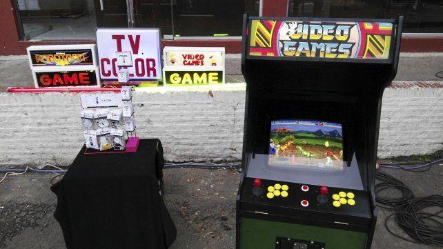 Los videojuegos para nostálgicos.