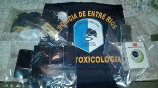 Siete detenidos tras operativos por narcomenudeo en Colón, Concordia y Paraná