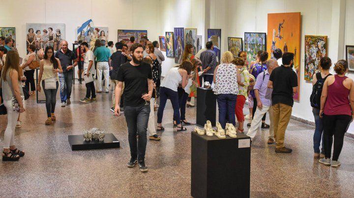 Disciplinas. Se verán obras de artistas de toda la provincia que participaron en las disciplinas de Pintura