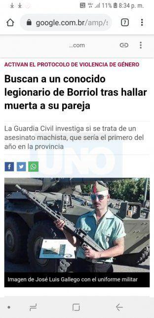 Militar especializado. El acusado prestó servicios en el ejército español.