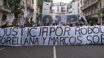 Comenzó la marcha en Buenos Aires.