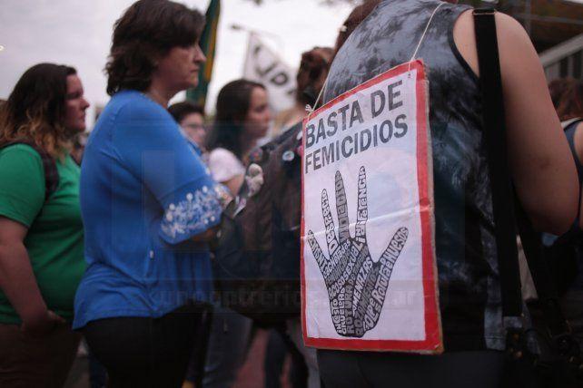 Paraná marchará hoy contra la violencia hacia las mujeres