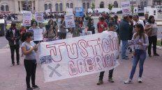 marcha a tribunales: denuncian gatillo facil y piden justicia por gabriel gusman