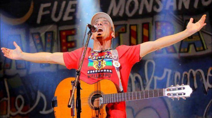 Manu Chao es uno de los pocos artistas que se plantó contra Monsanto.