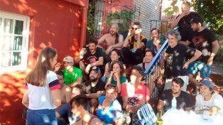 La troupe en Entre Ríos.