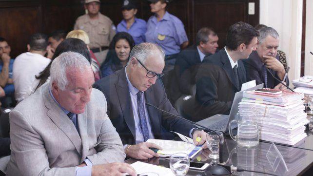 En el inicio del juicio por narcotráfico Caudana impidió el trabajo de la prensa