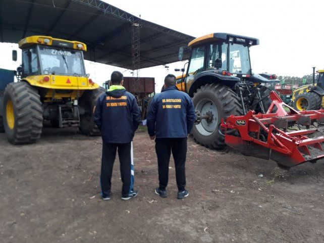 Compraron máquinas agrícolas con cheques sin fondo
