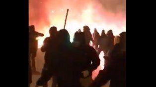 En Europa, la violencia también está presente