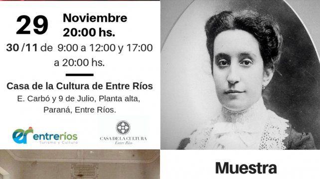 La historia y patrimonio cultural de Salud de Entre Ríos será objeto de una muestra