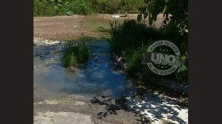 Mensaje para la Municipalidad: Foco infeccioso por cloacas tapadas