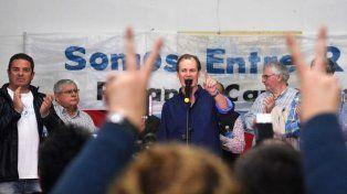 Preparan un acto de respaldo a Bordet, el sábado en Seguí