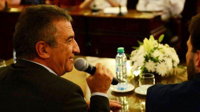 Urribarri informó que Diputados brindará información sobre los contratos en la Legislatura