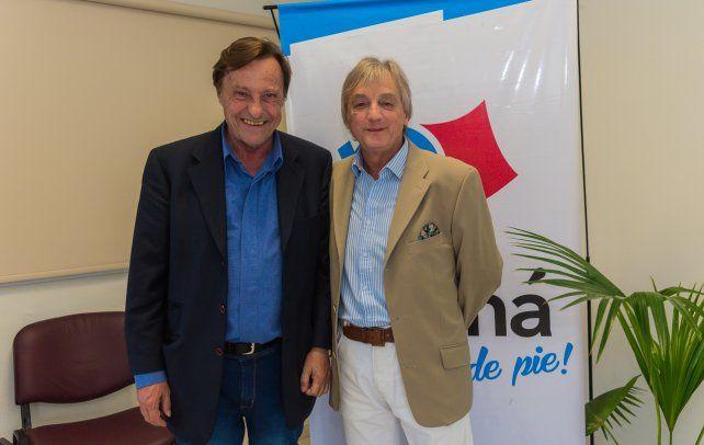 Sergio Varisco sumó al Pulga Mouliá a su gabinete.