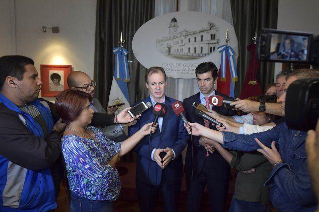 Bordet y Urtubey impulsan un verdadero gobierno de unidad nacional