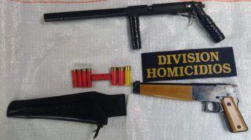detuvieron por delitos con armas al chofer de la viceintendenta de parana
