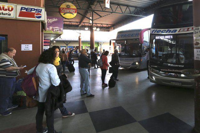 Terminal. Desde mañana regirán nuevos valores de los servicios desde la terminal de ómnibus.