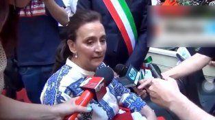 Ahora Michetti trató de hablar en Italiano y las redes explotaron