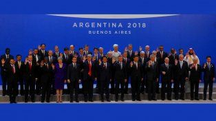 Arrancó formalmente la Cumbre del G20