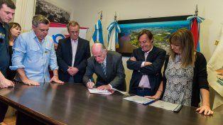 El Intendente anunció el comienzo de importantes obras de infraestructura