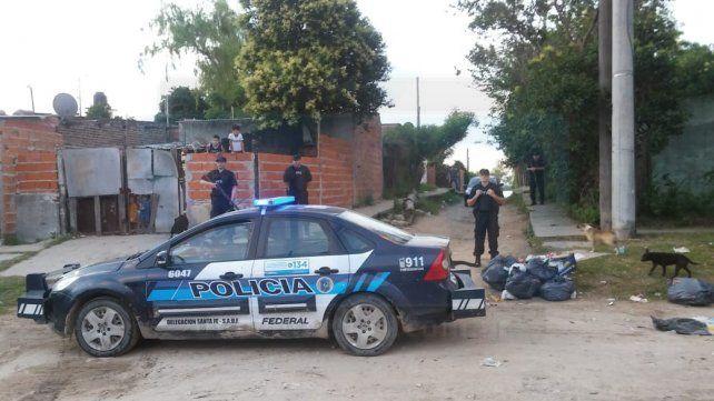 Los patrulleros inteligentes en las calles de tierra.