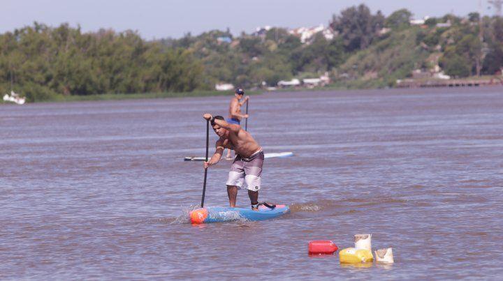 En Paraná entrenan la técnica de la remada.
