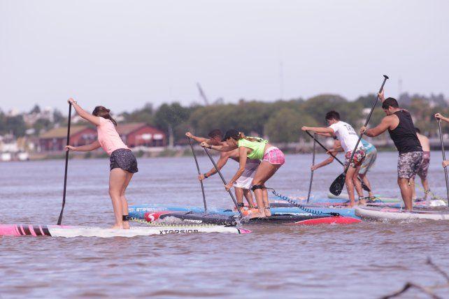 Las condiciones naturales del río Paraná son ideales.