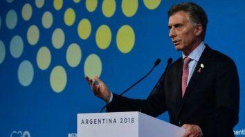 veinte frases de macri en la conferencia de cierre de la cumbre del g20