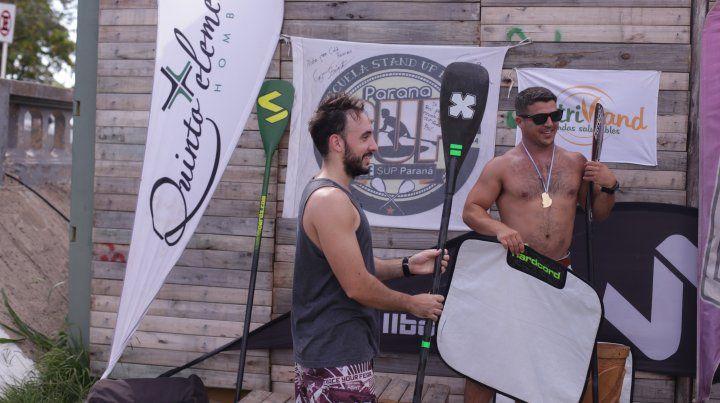 El espíritu del SUP en la playa del Municipal de Paraná