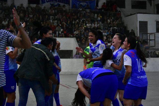 Las chicas de Sportivo Urquiza, dueñas del 2018