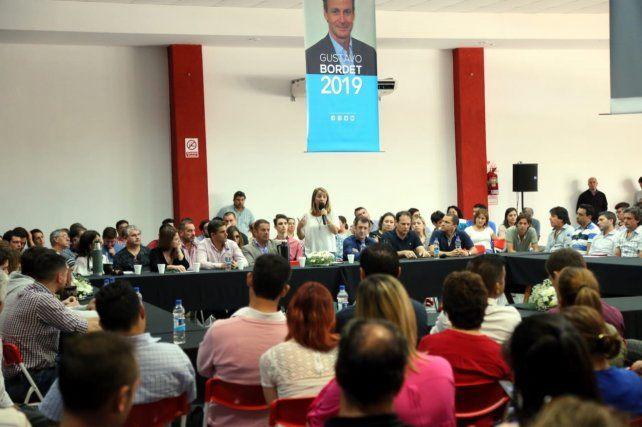 En Seguí. La agenda estuvo centrada en el recambio generacional.