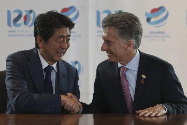 Alto vuelo. El líder argentino con su par de China dejaron ver el interés mutuo por negocios bilaterales.