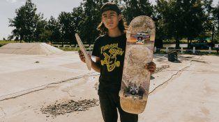 Hernán comenzó a patinar en la escuelita de skate del Corsódromo y nunca paró.
