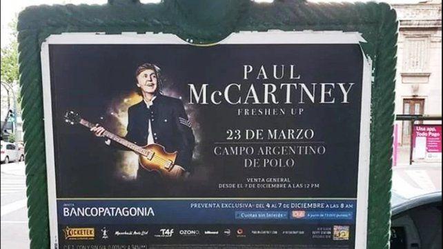 Paul McCartney trae Freshen Up a la Argentina