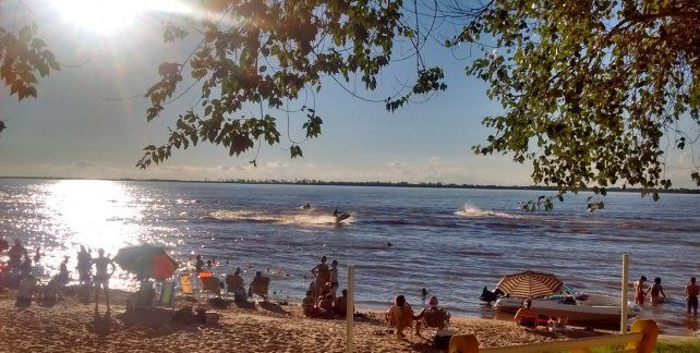 Se comenzaron a acondicionar las playas entrerrianas de cara a la temporada turística
