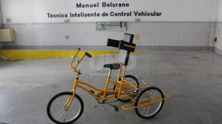 La bici inclusiva ahora es de los santafesinos.