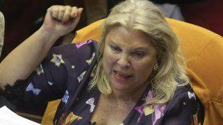 Carrió criticó los cambios en el uso de las armas de las fuerzas federales: Viola los derechos humanos