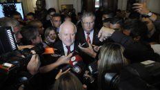 Contrapunto. El gobernador no vio con buenos ojos la resolución que adoptó la ministra de Bullrich, que otorga más poder a las fuerzas federales.