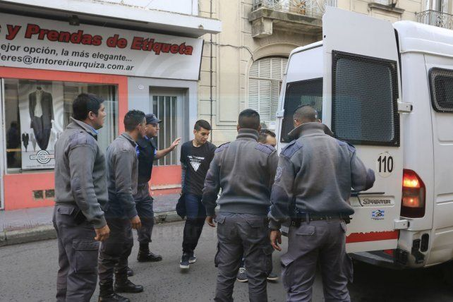 ¿Partícipe?.Testigo dijo que Matías Caudana integraba la banda.